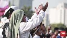 FOTO: Di Monas, Puluhan Ribu Orang Peringati Maulid Nabi