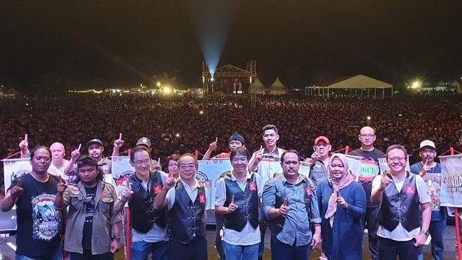 33 Ribu 'Bikers' Honda Kumpul di Pangandaran