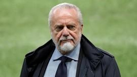 Presiden Napoli Ingin Bangun Stadion dengan Fasilitas Karaoke