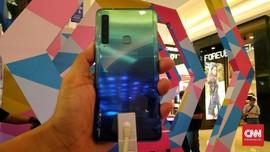 Usung 4 Kamera, Samsung Galaxy A9 Dibanderol Rp7,9 Juta