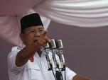 Pidato Lengkap Prabowo Soal Ekonomi hingga Jakarta Tenggelam