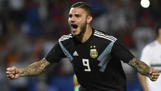 Icardi Ingin Main Bersama Messi di Timnas Argentina