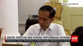 Rapat Terbatas, Jokowi Bahas Soal Investasi SDM