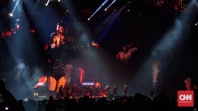 Konser Taylor Swift Disusupi Teknologi Pengenal Wajah