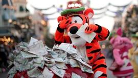 FOTO: Ceria Natal di Disneyland Paris