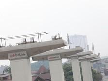 JK Kritik Proyek LRT Dibangun Elevated, Apa Kata Adhi Karya?