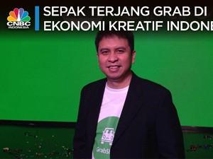 Sepak Terjang Grab di Ekonomi Kreatif Indonesia