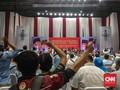 Lagu 'Sontoloyo' Menggema Sambut Kehadiran Prabowo di Istora
