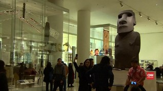 VIDEO: Pulau Paskah Minta Museum Inggris Kembalikan Patung