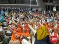 Emak-emak Membludak Hadiri Pembekalan Relawan Prabowo-Sandi