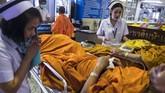 Berdasarkan catatan Asian Development Bank, Thailand sendiri masuk ke dalam salah satu negara dengan penderita obesitas tertinggi di Asia. (Photo by Romeo GACAD/AFP)