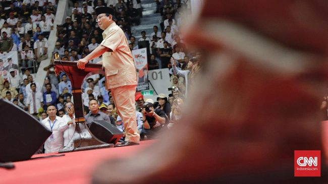 Prabowo Sebut Ada Ancaman Terhadap Elite yang Dukung Dirinya