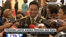 Presiden Lantik Andika Perkasa Jadi KSAD
