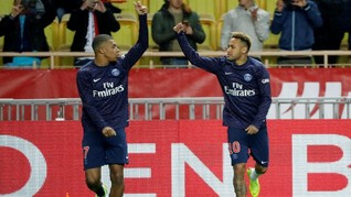 Jelang Jumpa Liverpool, PSG Terancam Tanpa Neymar dan Mbappe
