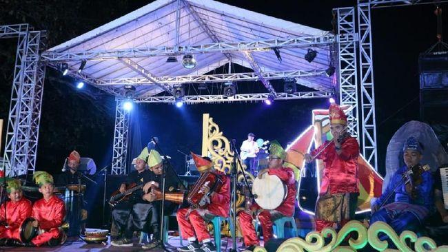 Budaya Nusantara Tampil di Parade Pelangi Budaya Belitung