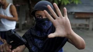 FOTO: Arus Eksodus Warga Honduras Hindari Perang Geng