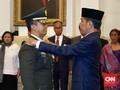 Jokowi Resmi Lantik Andika Perkasa Jadi KSAD