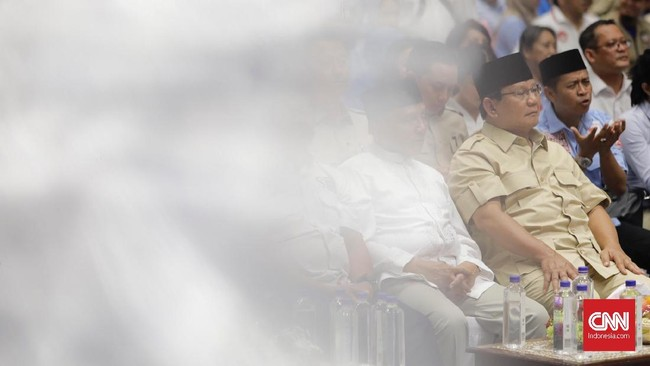Pertemuan relawan ini rencananya akan digelar di daerah-daerah. Gerakan itu bakal dilakukan mulai Desember 2018 untuk memperkuat barisan pendukung Prabowo-Sandi. (CNN Indonesia/Adhi Wicaksono).