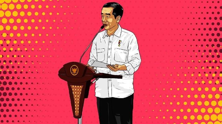 Jokowi Imbau Agar Produk Asing Tak Kuasai Bukalapak Cs