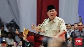 Miskin Dana Kampanye, Prabowo Minta Sumbangan Relawan