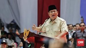 Prabowo: Kita Tak Bisa Kalah, kalau Kalah Negara Ini Punah