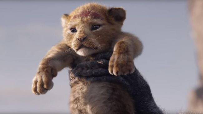 Auman Perdana Simba dalam Cuplikan 'The Lion King'