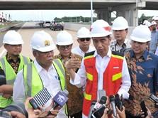 Jokowi: Tol Bakauheni-Palembang 350 Km Tuntas Medio 2019