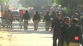VIDEO: Konsulat China di Pakistan Jadi Sasaran Bom Bunuh Diri