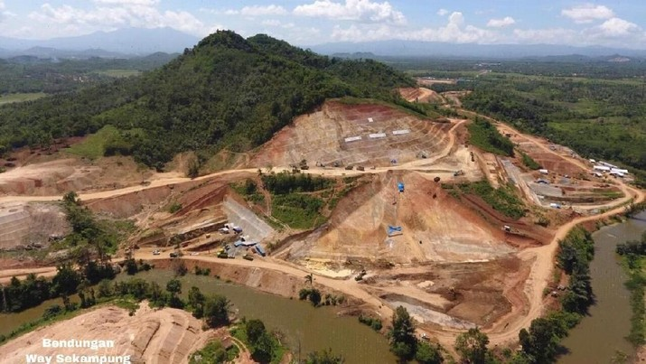 Mengintip Proyek Bendungan Lampung Rp 1,7 T