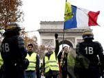 Pertumbuhan Ekonomi Prancis Loyo Gara-gara Rompi Kuning
