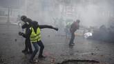 Kepolisian setempat telah memobilisasi 3 ribu aparat demi menangani situasi tersebut. (Lucas BARIOULET / AFP)