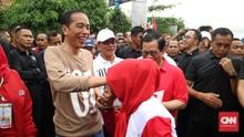 Dana PKH Naik, Denny JA Sebut Jokowi Makin Sulit Dikalahkan