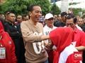 Antusiasme Warga dan Jokowi Menerjang Lumpur di Lampung