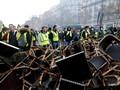 Aksi Rusuh Rompi Kuning Jadi Alasan Turis Batal ke Paris