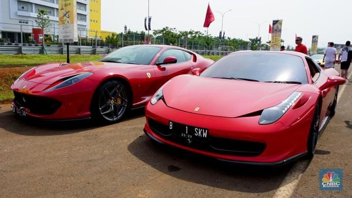 Perawatan mobil Ferrari membutuhkan dana yang tidak sedikit.