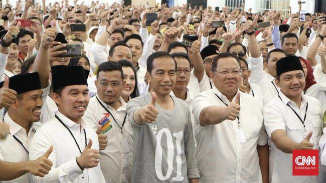 Jokowi soal Pilpres: Perlu Kerja Keras di Lampung Utara