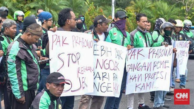 Pengemudi Ojek soal Prabowo: 'Arek-arek Suroboyo' Sakit Hati