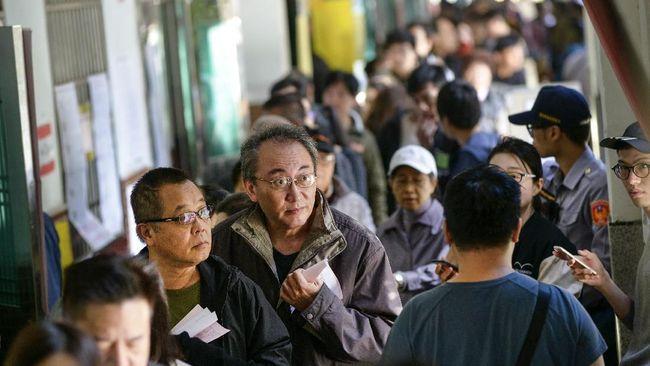 Polling Warga Taiwan Soal China hingga LGBT Telah Dimulai
