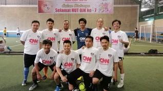 CNN Indonesia Sukses Juara Turnamen Futsal OJK