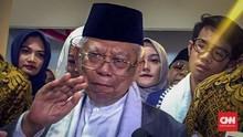 Ma'ruf Klaim Tak Ada Kriminalisasi Ulama saat Jokowi Menjabat