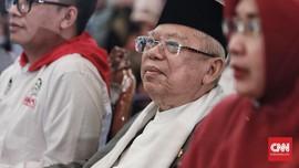 Jadi Cawapres, Ma'ruf Tegaskan Tak Jadi Alat Politik Jokowi