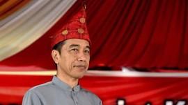 Jokowi Bakal Terima Gelar Adat Melayu Pagi Ini