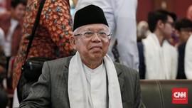 Ma'ruf Amin Yakin Prabowo-Sandi Gagal Goyang Jokowi di Jateng