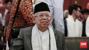 Ma'ruf Amin Incar Jabar, Banten dan DKI Lumbung Suara Pilpres