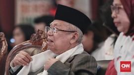 Ma'ruf Amin Diprediksi Jadi Eksekutor Isu HAM bagi Prabowo