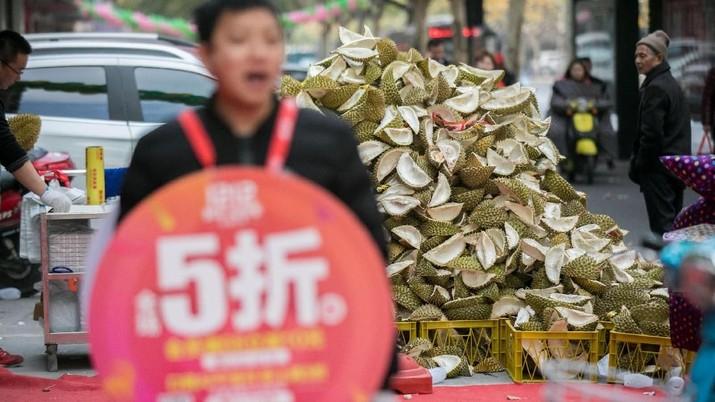 Favorit China, Durian Jadi Komoditas Ekspor Terseksi Malaysia