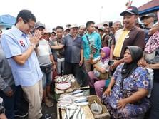 Di Depan Sandi Uno, Nelayan Curhat Paceklik dan Harga Anjlok