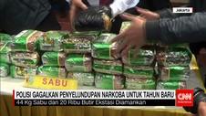 Polres Jakarta Selatan Gagalkan Penyelundupan Narkoba