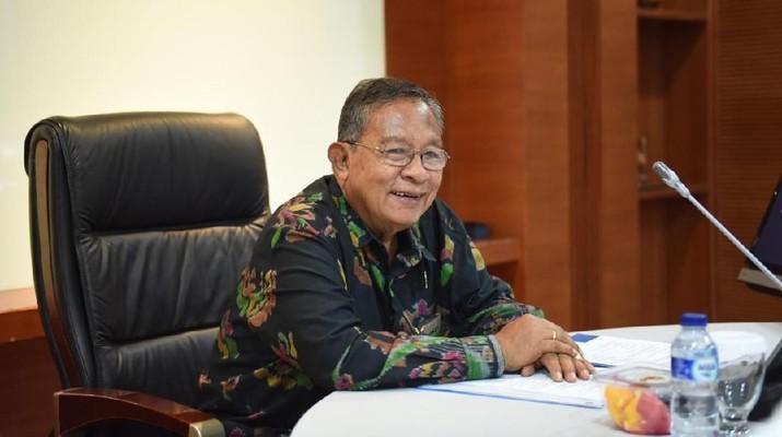 Menteri Koordinator Bidang Perekonomian Darmin Nasution menilai nilai tukar rupiah terhadap dolar AS masih berpotensi menguat.