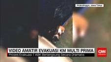 Evakuasi 7 Anak Buah KM Multi Prima